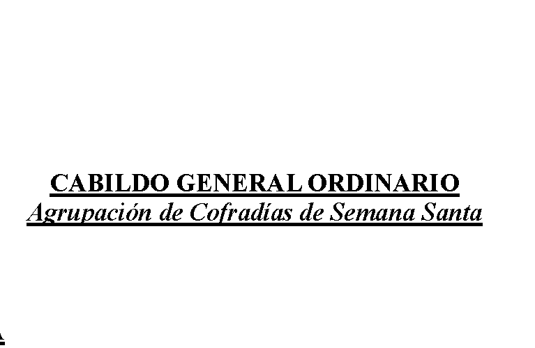 Cabildo General Ordinario 20-01-2018
